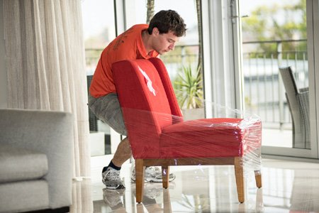 platinum removals removalist packing chair