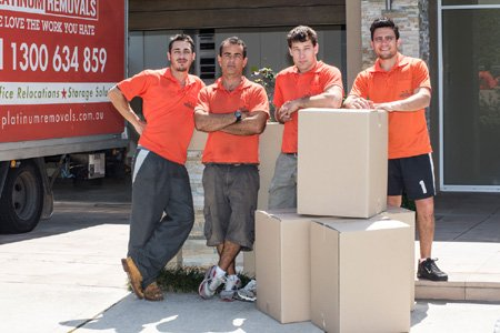 platinum removals removalist team