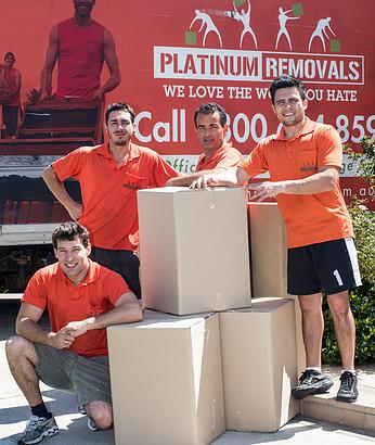 platinum removals team
