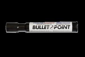 bullet point marker pen
