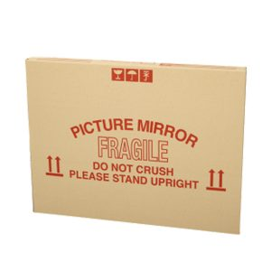 picture and mirror packing box