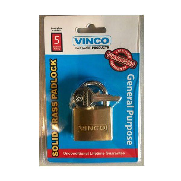 solid brass padlock