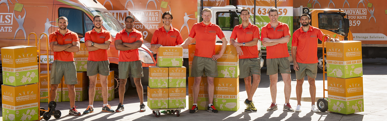 platinum removals sydney removalist team